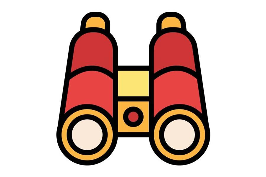 icon of binoculars
