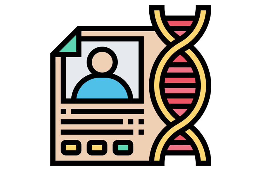 icon of genetic test