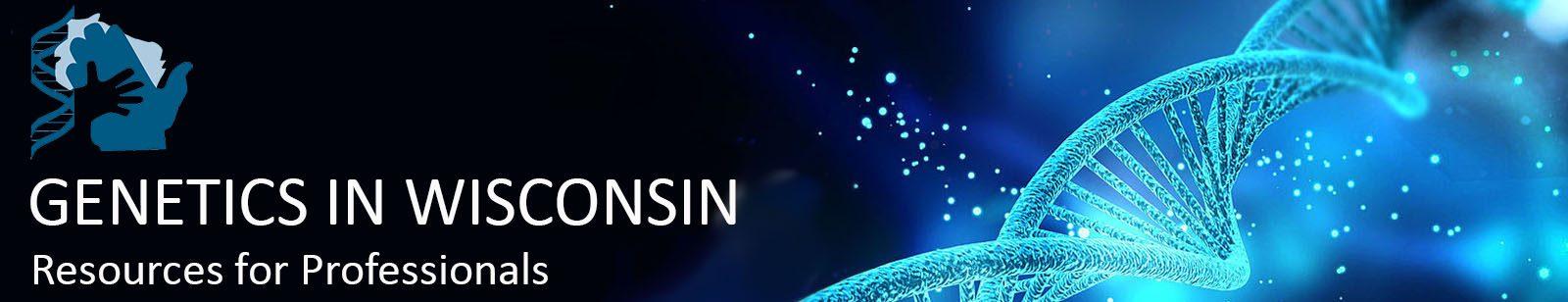 Banner of Genetics in WI website